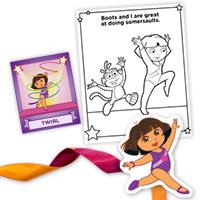 Sleepover Idea: Fantastic Gymnastics Dora - Grandparents.com